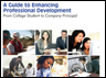 A Guide to Enhancing Professional Development: From College Student to Company Principal