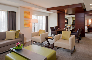 Grand Suite Parlor, Grand Hyatt Washington