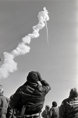 ON JANUARY 28, 1986, THE LAUNCH OF THE SPACE SHUTTLE CHALLANGER