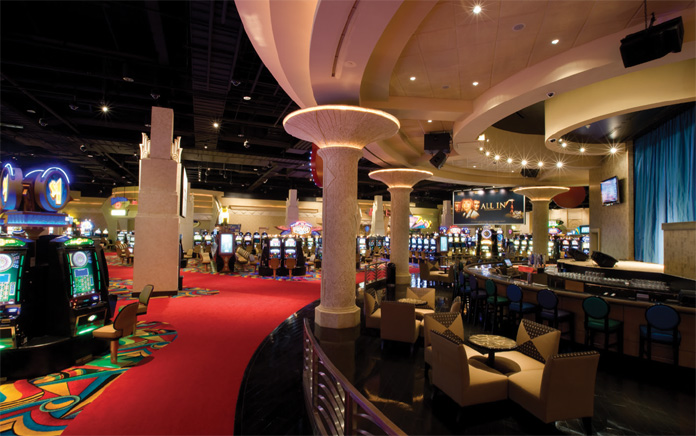 CAUCCI'S COMPANY, CONCORD ATLANTIC ENGINEERS, DID THE MEP DESIGN FOR THE HOLLYWOOD CASINO IN BANGOR, MAINE.