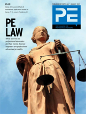 July/August 2017 PE Magazine Cover