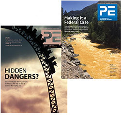 PE Magazine Covers