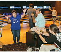 AN EVENING OF FUN AND NETWORKING AT BROOKLYN BOWL ON THE LAS VEGAS STRIP