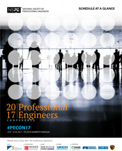 2017 Professional Engineers Conference Program